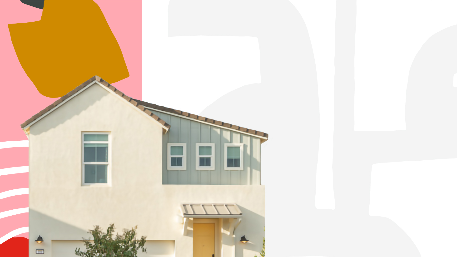 Home exterior collage